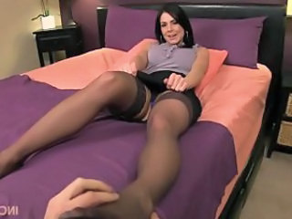 Rub her feet then your cock