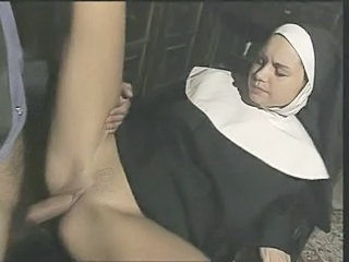 Vintage Nun Clothed