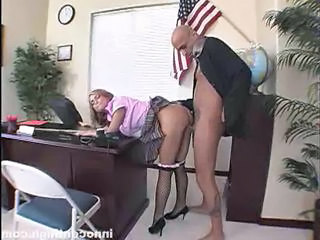 Clothed Doggystyle Office Clothed Fuck Doggy Teen Office Teen