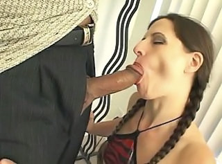 Horny chicks cant resist blowing cock _: blowjobs brunettes milfs tits
