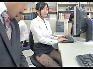 Skirt Upskirt Secretary Pantyhose Stockings Upskirt