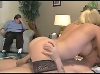 Husband Punishment _: babes big boobs cuckold stockings