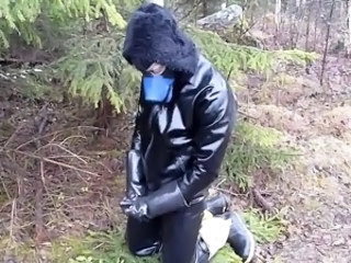 Latex Fetish Outdoor Rubber