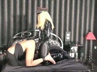 fuck ass spank in latex
