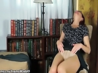 Business lady masturbates in pantyhose free
