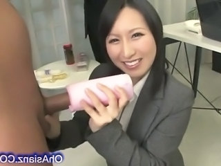 Asian Handjob Japanese Bus + Asian Handjob Asian Handjob Cock