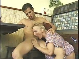 German European Mom Blowjob Mature European German