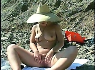 Teen chick banged outdoors