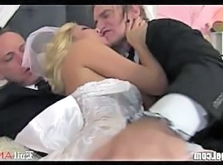 Cuckold Bride Wife Milf Threesome Threesome Milf Wedding