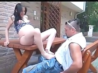Pregnant Outdoor Ejaculation