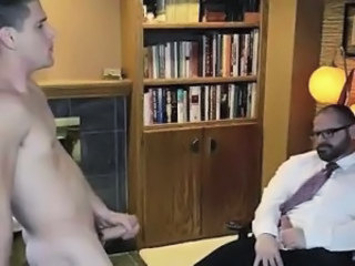 Young mormon boy strips for older gay guy