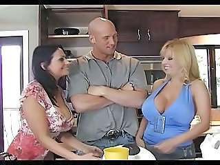 Big Tits Kitchen  Big Tits Big Tits Milf Boobs
