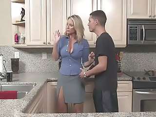 Mom Kitchen Old And Young Big Tits Big Tits Milf Big Tits Mom