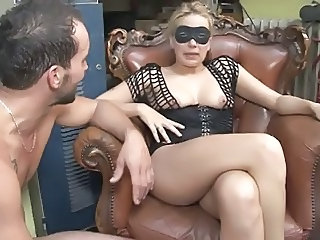 French milf blonde destroyed by hard dick