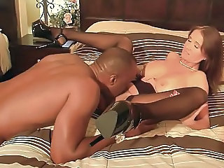 Cuckold Interracial Licking Cock Licking Milf Stockings Stockings