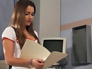 Amazing Cute MILF Nurse Pornstar Uniform