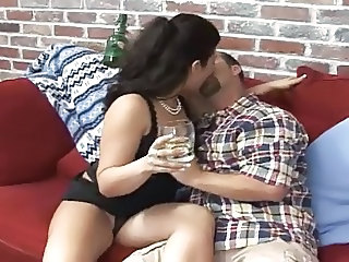 Drunk Kissing Latina Latina Milf