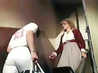 Glasses  Teacher Milf Ass