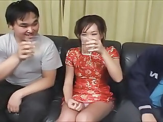 Asian Drunk  Drunk Party Milf Asian Upskirt