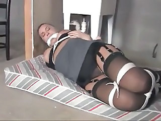 lovely Nicole tied up