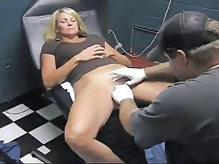 Video from: xhamster | Sexy Slave Slut Gets Her Clit Hood Pierced