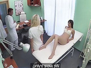 Babe Doctor HiddenCam Emo Office Babe Toy Babe