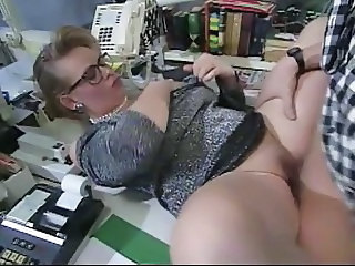 Glasses Clothed Secretary Chubby Ass Milf Ass Milf Office