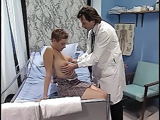 Doctor fucking the sexy blond patient
