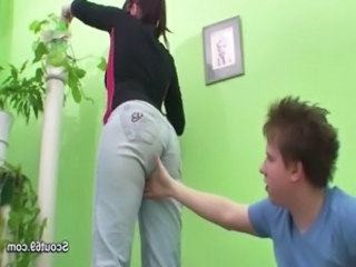 Jeans Ass European Caught Caught Mom Caught Teen
