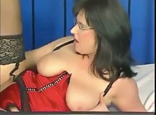 Busty German Mature In Lingerie & Glasses Fucked _: big boobs german lingerie matures milfs