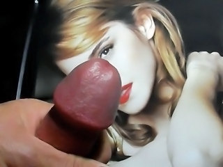Jerking Off And Cumming On Emma Watson's Face! A Tribute!