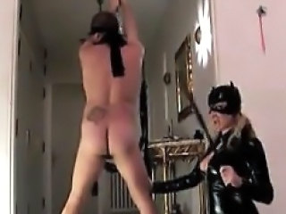 Sexy Mistress In Latex Abusing A Client