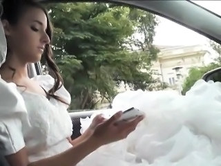 Bride Car Cute Car Teen Cute Teen Outdoor