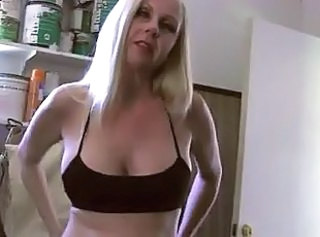 Mature Woman Milked a Young Boys Cock WF