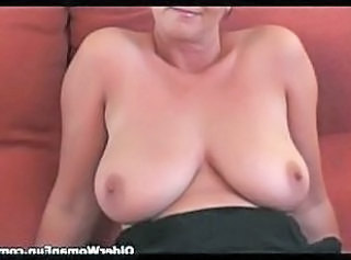 Mom Natural  British British Mature British Tits