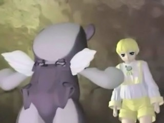 3d anime shemale with monster
