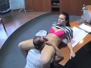 HiddenCam Licking Doctor