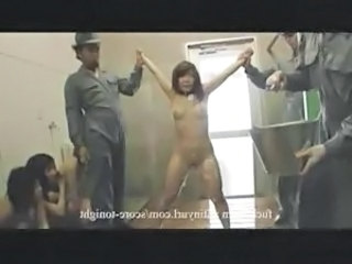Slave Farm With Asian 7-11 Shower