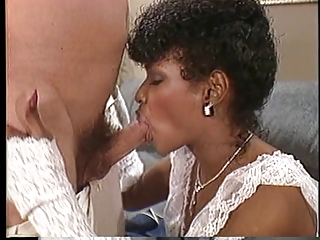 White guy drills sexy Angel Kelly on a..