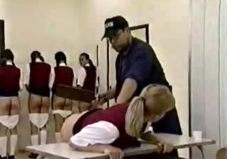 Spanking Vintage Punish Pregnant Teen