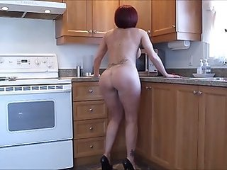 Ass Solo Kitchen Kitchen Mature Mature Ass Milf Ass