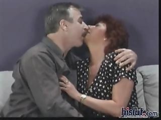 Older Wife Kissing Nylon