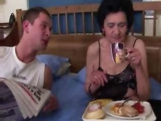 Video from: dr-tuber | cock  granny  mature  old woman  young
