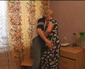 Russian mature anal mom and her boy! Amateur!
