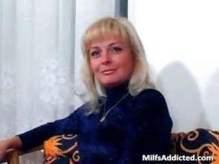 blonde   blowjob   lingerie   mature   milf