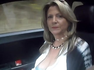 Mature Car Wife Riding Mature Wife Milf