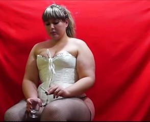 Eros &amp, Music - BBW Blonde Smokes