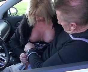 Car Clothed European European French French Mature