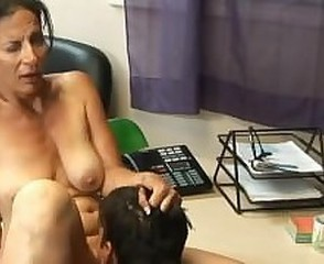 Secretary Mom Office Old And Young Tits Mom Tits Office
