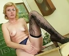 Solo Masturbating Blonde Fingering Glasses Mature Masturbating Mature